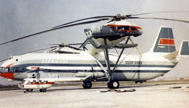Mi-12 - O maior helicóptero da história