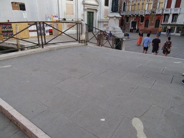 Puente Santa Fosca dei Pugni del puño venecia