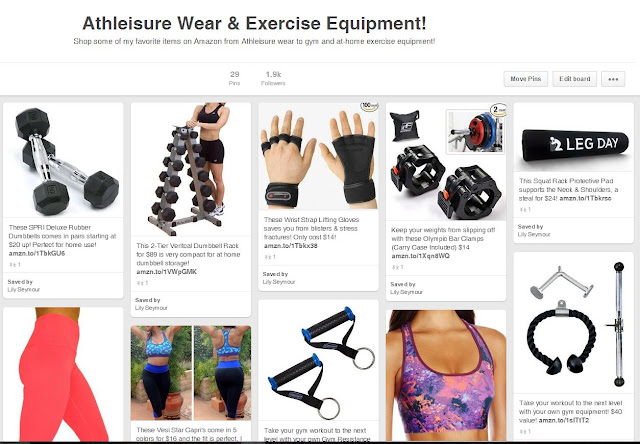 Athleisure Wear & Exercise Equipment