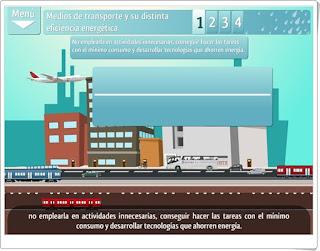"""""""Medios de transporte y su distinta eficiencia energética"""" (Plataforma Agrega)"""
