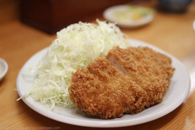Yamabe Uenoten (山家) Pork Tonkatsu