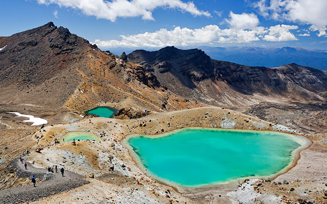 Dia 12: Tongariro Alpine Crossing, una travessa per Mordor!