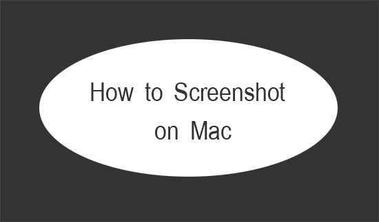 how to screen shot on mac computer