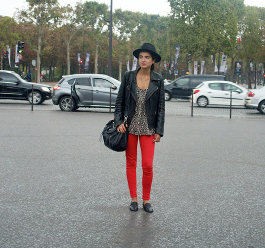 ONE LOOK DURING THE PARIS FASHION WEEK