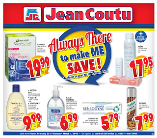 Jean Coutu Flyer February 23 - March 1, 2018