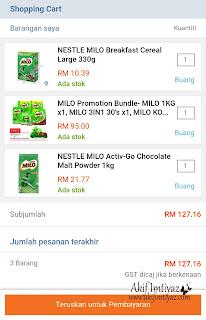 Beli Milo Kat Lazada Malaysia , Milo, Nestle , Milo Malaysia , Lazada , Beli Online , Lazada Malaysia , Beli Milo Di Lazada