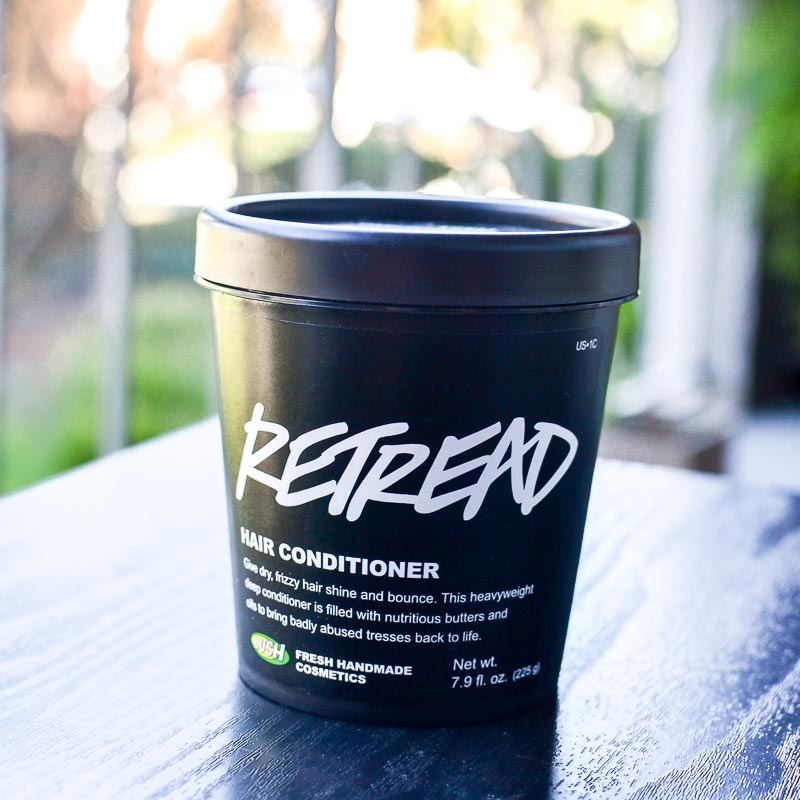 Lush Retread Deep Conditioner for Thick Dry Hair - Review