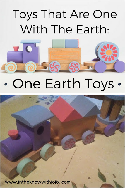 One Earth Toys toy train makes a perfect gift for your little one and great coz it is Earth friendly!