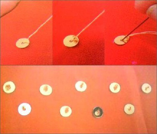 memasang-payet-bentuk-tabur