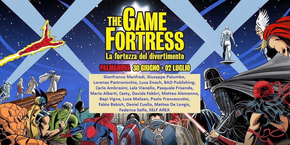 Palmanova The Games Fortress, dal 30 giugno al 2 luglio 2017 TheGameFortress%2Bautori