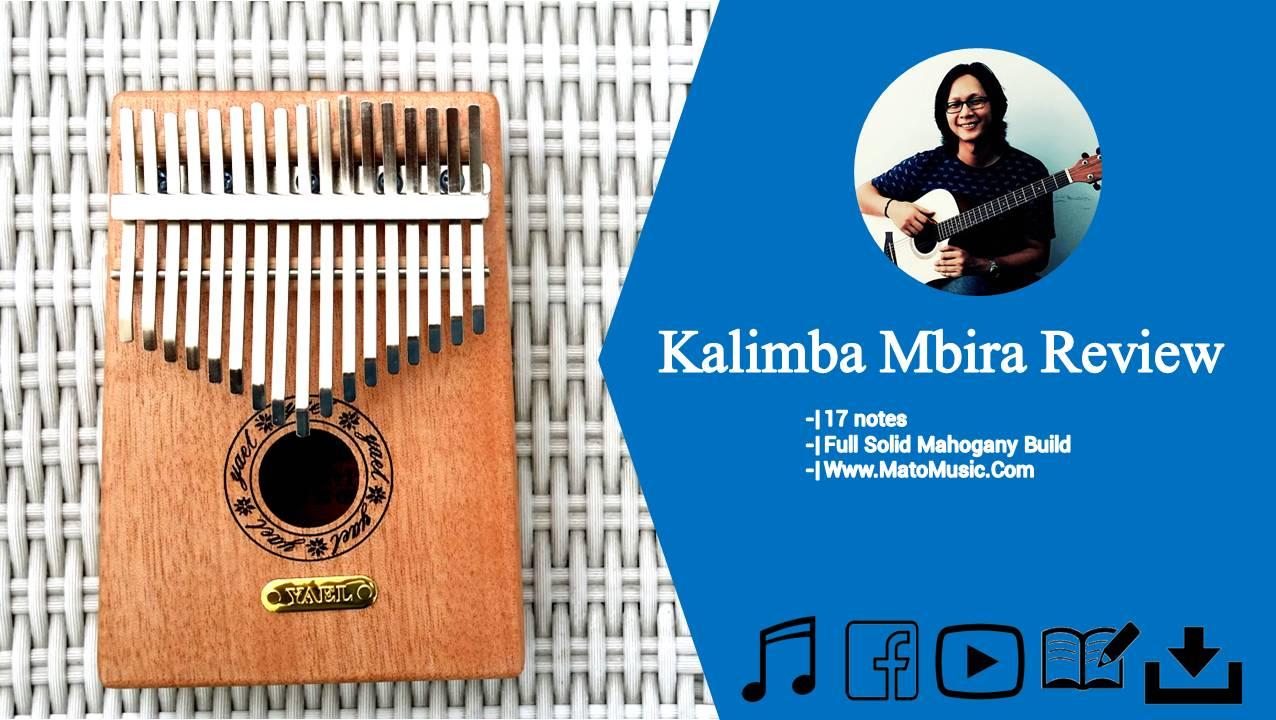 Kalimba Mbira 17 Notes Mahogani Full Solid Review