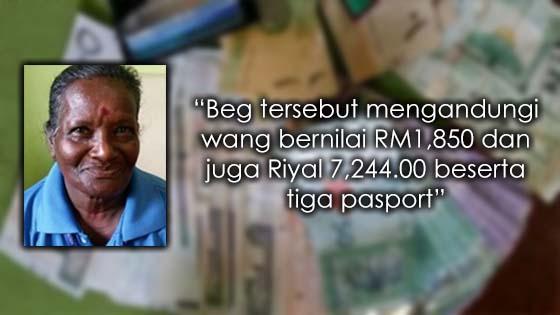 Pekerja Sunway Lagoon Pulangkan Beg Pelancong yang Mengandungi Wang Hampir RM10,000