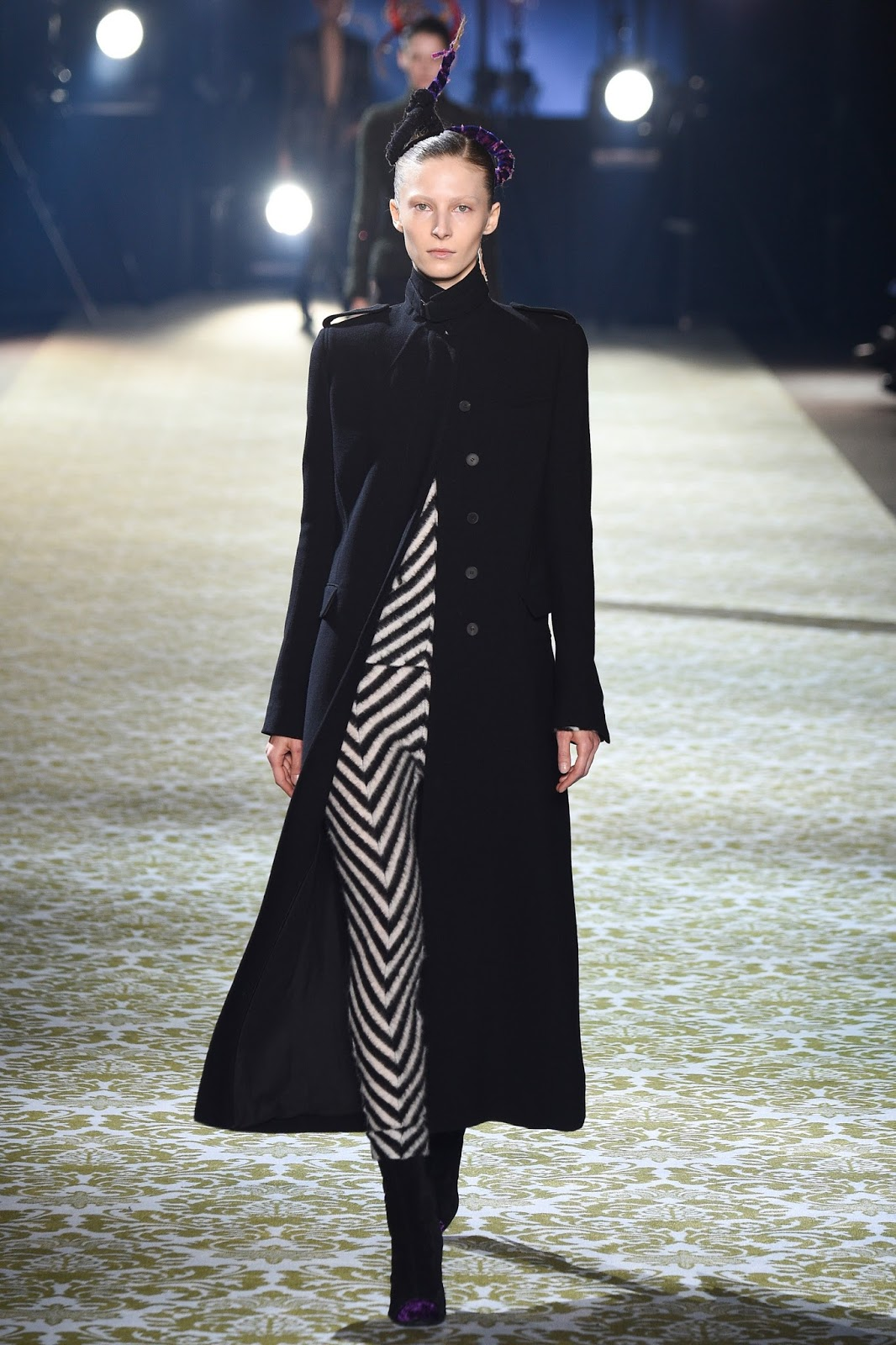 Paris fashion week best collections / Haider Ackermann Fall/Winter 2016 via www.fashionedbylove.co.uk british fashion blog