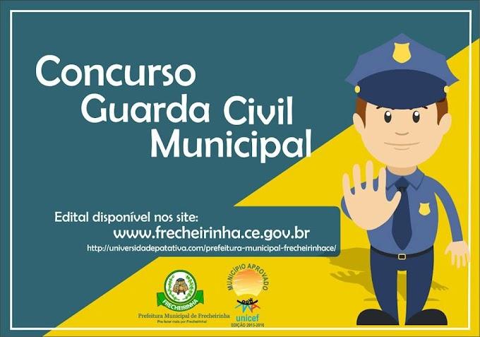Frecheirinha-CE: Prefeitura lança edital de concurso público para guarda civil.