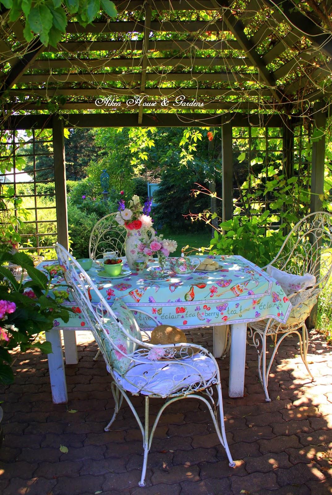 Summer Sunny Garden Plan