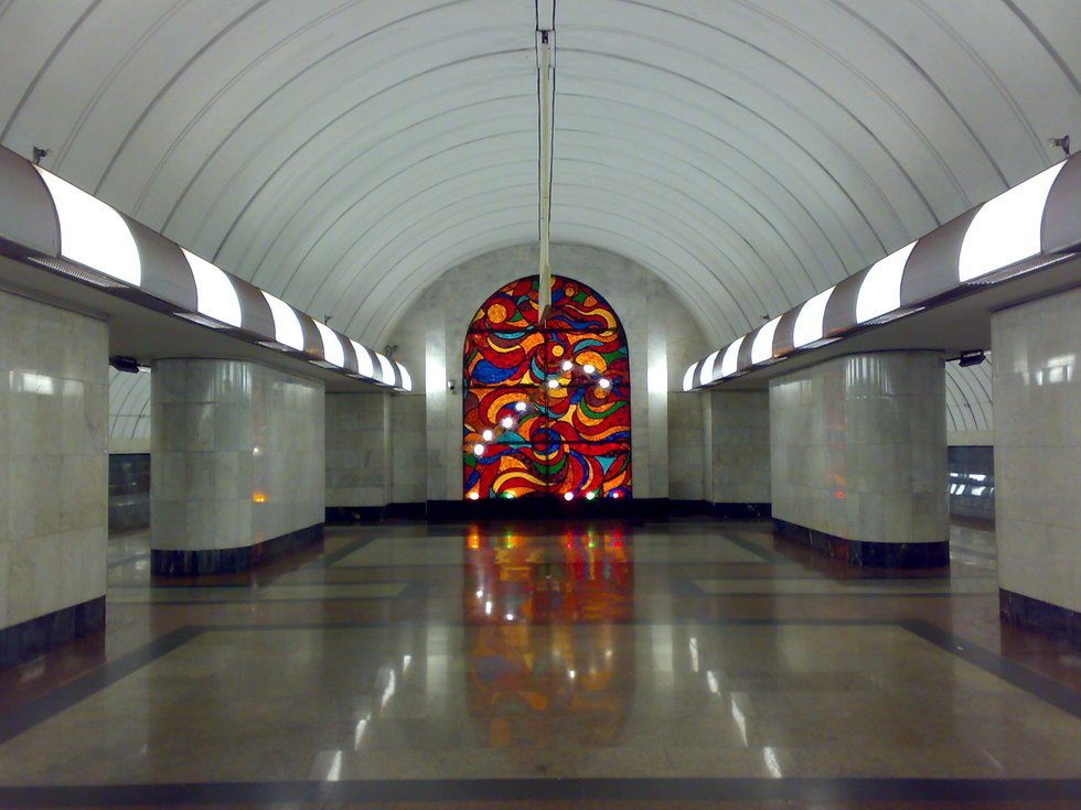 Lisa S World Moscow Russia Moscow Metro Stations The