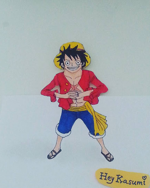 [drawing] One Piece - Luffy
