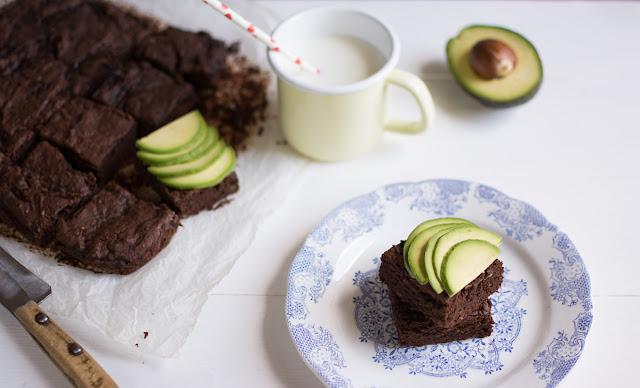 brownies cioccolato e avocado