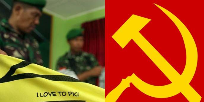 """Kaos """" I Love PKI"""" Diduga Diproduksi di Cina Dikirim Kusus ke Indonesia"""