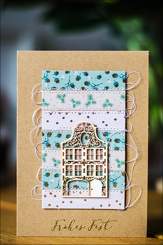 Stephanie Berger - Scrapbooking - Wycinanka - Cardmaking - House
