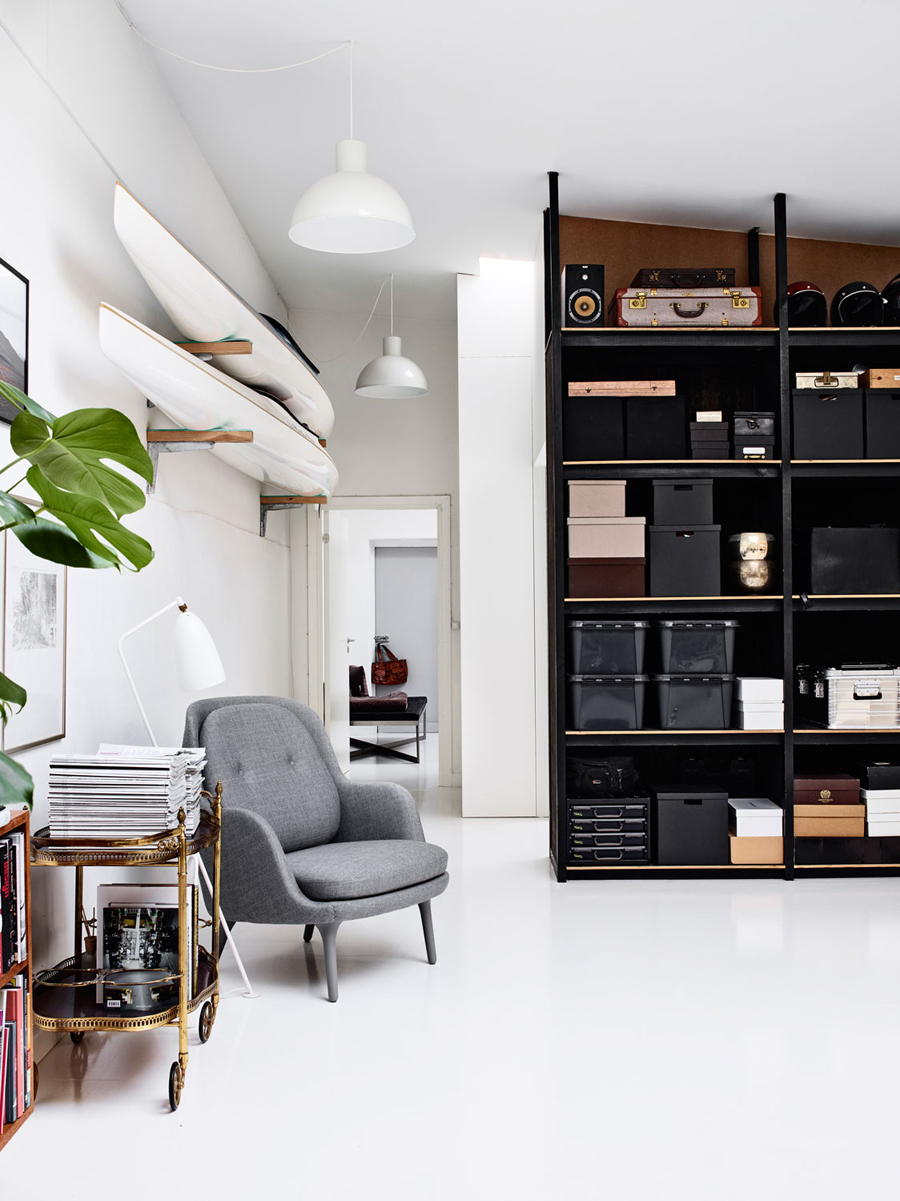 """Muebles perfectos, espacios abiertos y mucho almacenaje. What else"""""""