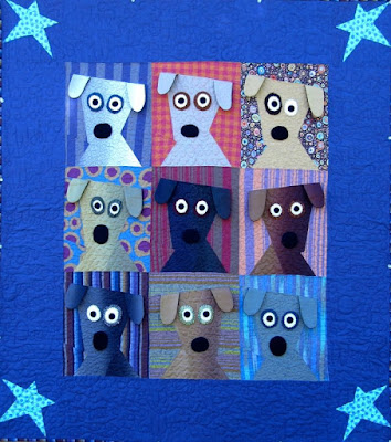 Quilt Inspiration Free Pattern Day Cat And Dog Quilts Impressive Dog Quilt Patterns