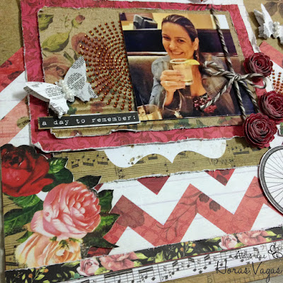 kit aula scrapbooking scrap scrapbook lo celebrate everyday kaiser craft kaleidoscope collection passo a passo pap diy foto fotografia álbum curso online página decorada