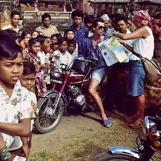 Foto Jadoel Turis Di Bali 1975