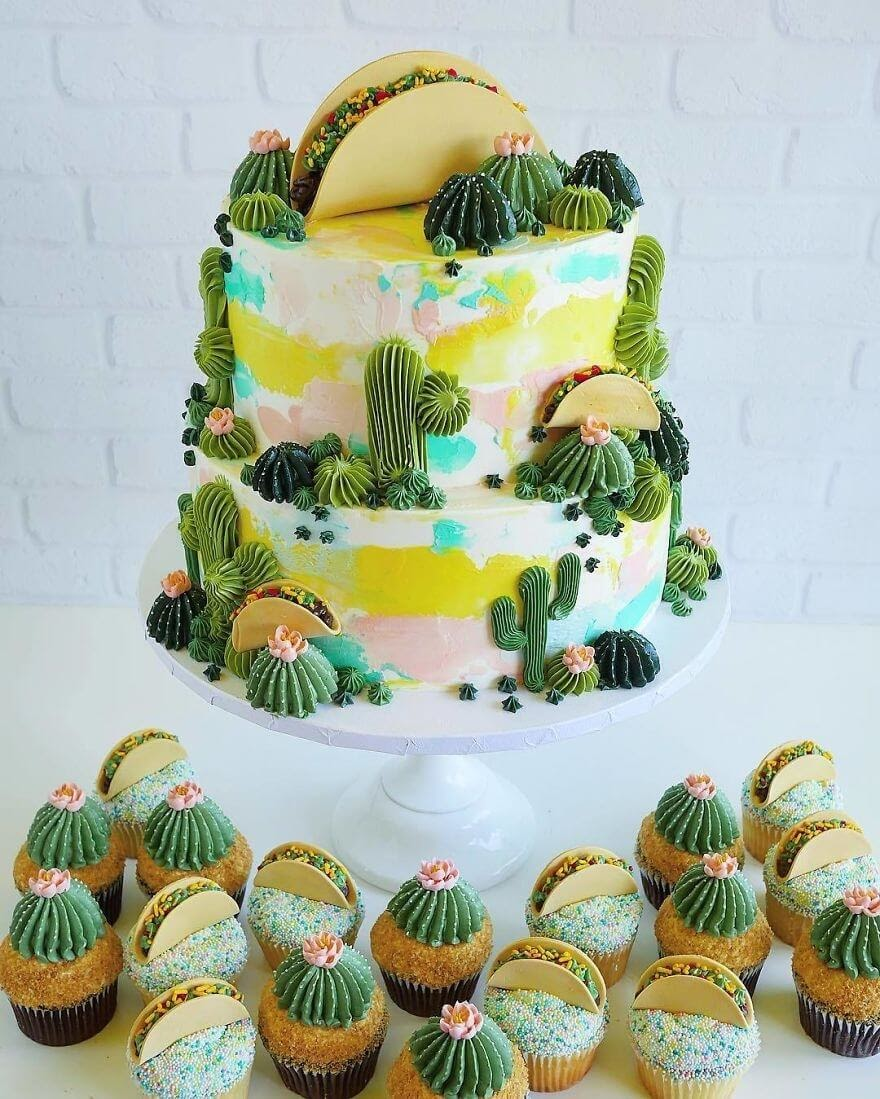 05-Cacti-Cake-Leslie-Vigil-Themed-Decorated-Cakes-www-designstack-co