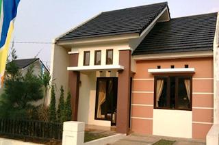 rumah sederhana sekali di desa