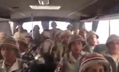 جنود الجيش, يهتفون لمصر, اصحى يامصرى,