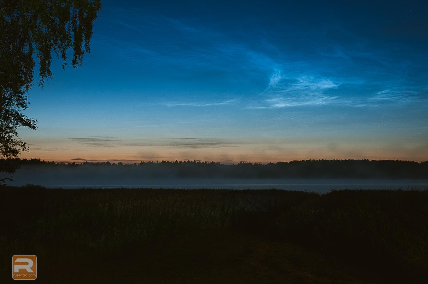 Sudrabainie mākoņi - Noctilucent cloud