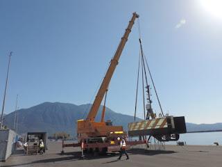 Σκάφος του XPRIZE στην Καλαμάτα για τη χαρτογράφηση του πυθμένα της θάλασσας