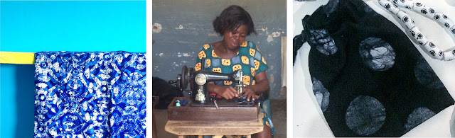 Global Mamas, gift bag, cotton bag, ethicall produced, ethical fashion, made in Ghana, made in Africa, slow fashion, sustainable fashion