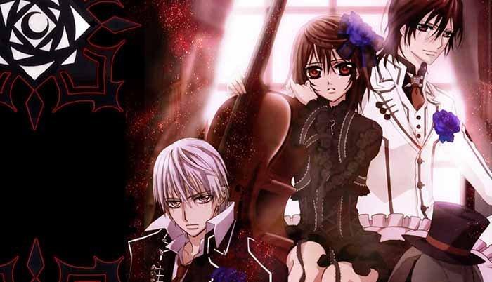 Zero Kiryuu X Yuuki Cross X Kaname Kuran ( Vampire Knight )