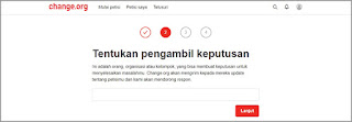target petisi online