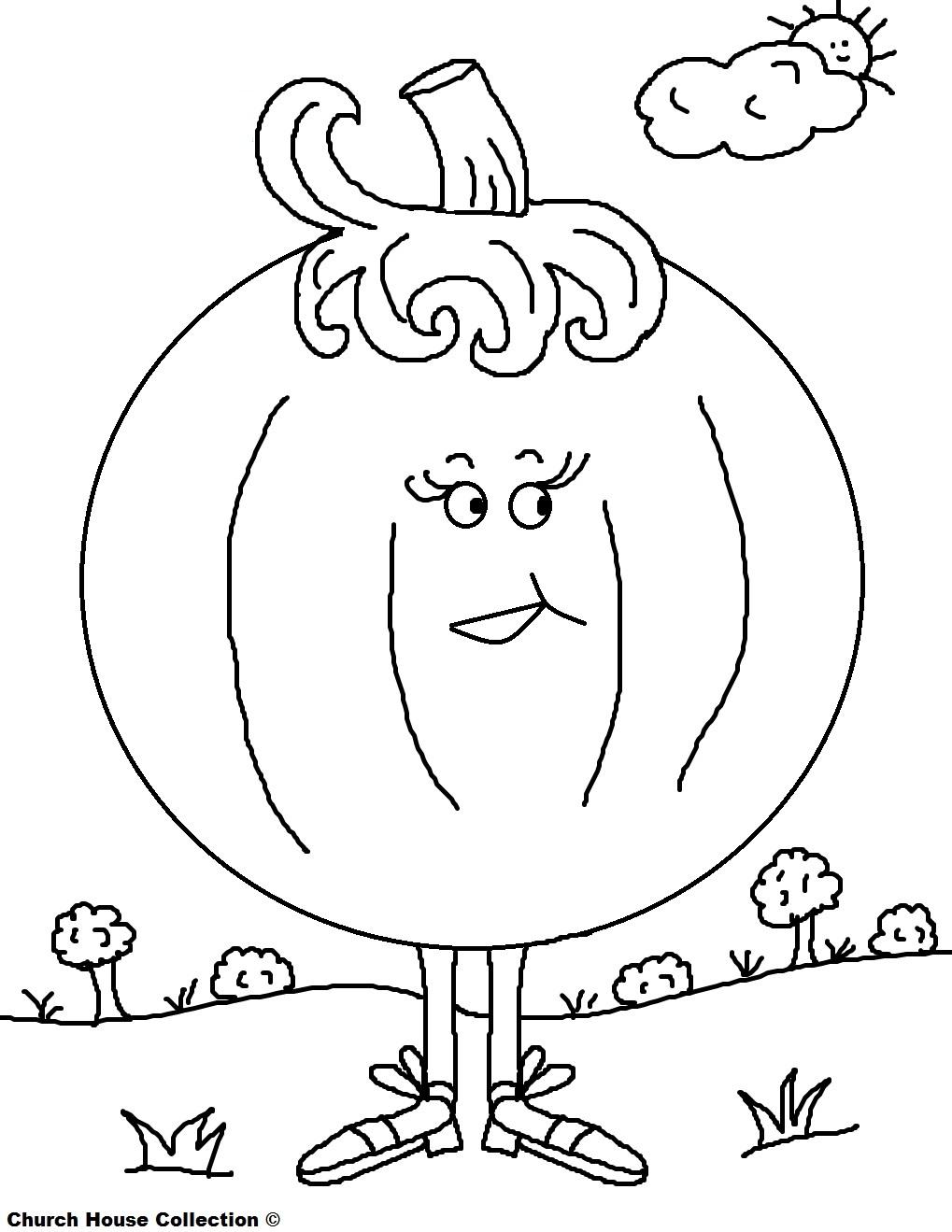 Church House Collection Blog Free Printable Pumpkin Coloring