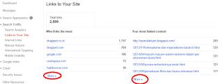 Cara Mengetahui Jumlah Backlink Di Google Webmaster