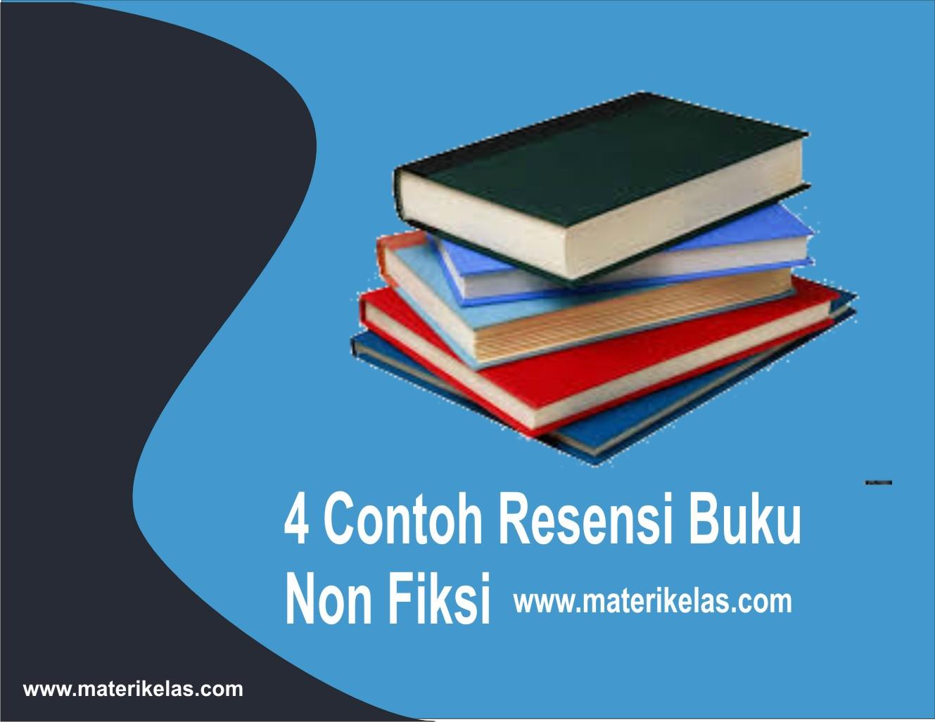 4 Contoh Resensi Buku Non Fiksi Mata Pelajaran