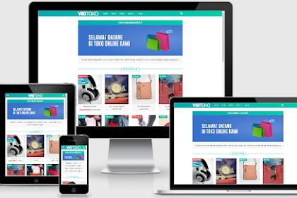 Template VioToko Terbaru untuk Toko Online Gratis