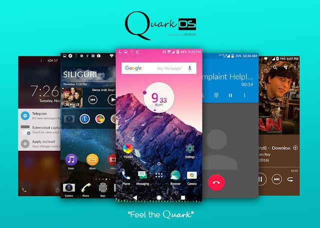 QuarkOS Title Image