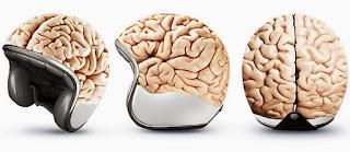 Helm Unik Model Otak