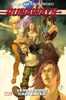 RUNAWAYS 2 VERDADEROS CREYENTES  Marvel comic de Brian K. Vaughn, Adrian Alphona, Takeshi Miyazawa y Skottie Young