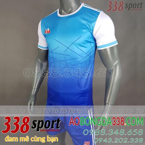 mẫu áo bóng đá không logo adidas aro