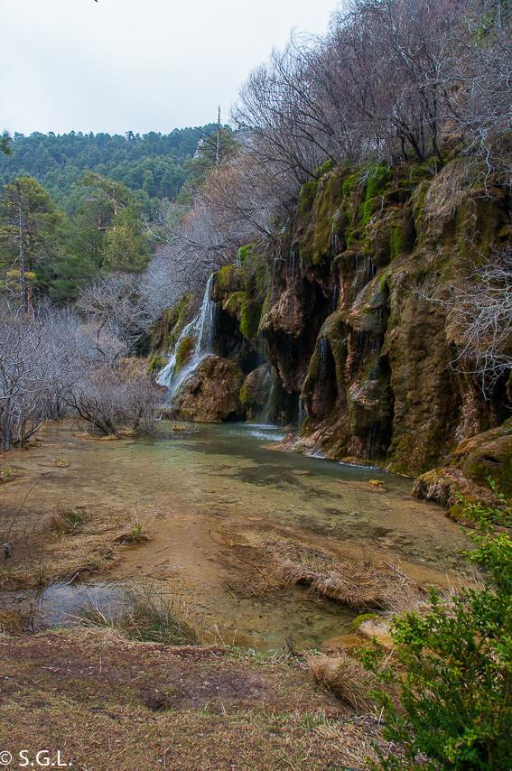 El nacimiento del rio Cuervo. Cuenca