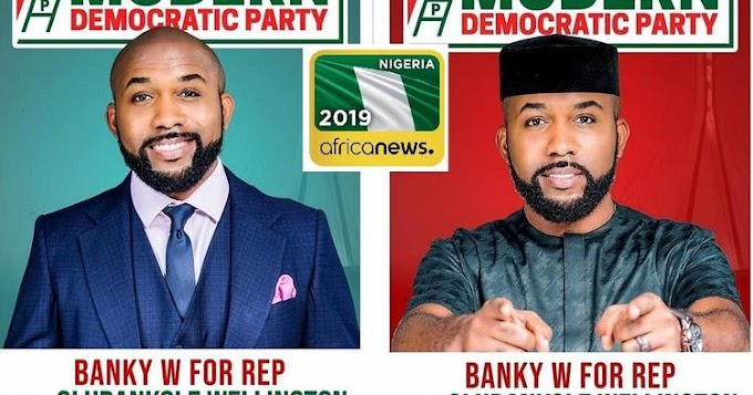 This feels amazing,  Something special has begun - Banky W says as he won at his Polling Unit