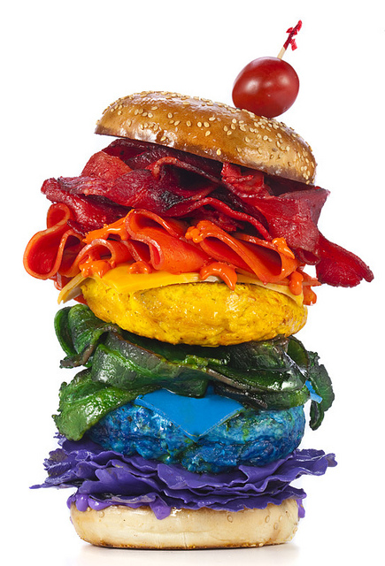 Food of the Rainbow von Henry Hargreaves | Art and Photography