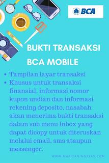 Bukti Transaksi BCA Mobile