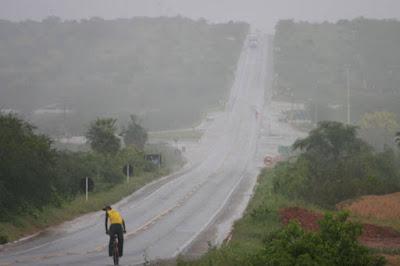 Chove nesta segunda em boa parte da Paraíba