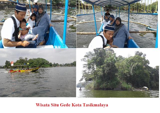 Liburan Seru, Naik Perahu Mengelilingi Situ Gede Wisata Tasikmalaya